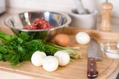 eggs ингридиенты шотландские Стоковая Фотография RF