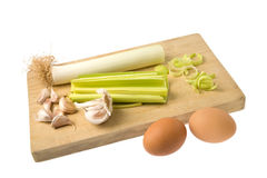 eggs овощи Стоковая Фотография