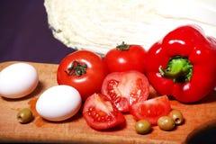 eggs овощи Стоковые Изображения RF