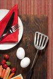 eggs овощи Стоковое Фото