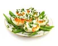 eggs свежие овощи Стоковая Фотография