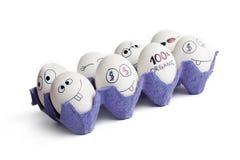 eggs смешное Стоковое фото RF