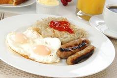 eggs сосиска Стоковая Фотография RF