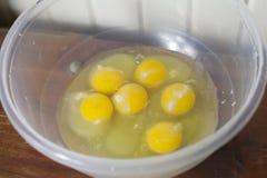 eggs сырцовое Стоковая Фотография