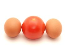 eggs томат 2 стоковое изображение