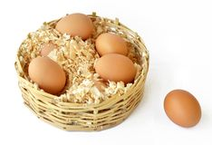 Eggs_011 Royalty Free Stock Photos