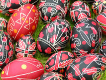 Eggs. Of are an obligatory attribute of festive table on of Easter royalty free stock images