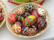 Eggs. Of are an obligatory attribute of festive table on of Easter stock image