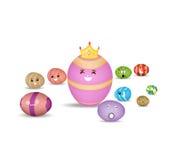 复活节彩蛋, Eggs公主 库存照片