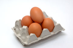 Eggs. Egg, eggs, a hen, a cock, a shell, a yolk, fiber, an omelette, fried eggs, a bird, a chicken, meal, products, hen house, village Stock Photo