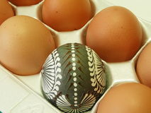 Box of eggs Royalty Free Stock Image