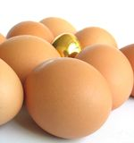 Eggs. Produce - Eggs royalty free stock image