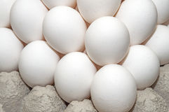 Eggs. An abundance of eggs stacked on top of one another Stock Photography