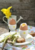 Easter breakfas Royalty Free Stock Photo