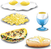 Eggs assorted Royalty Free Stock Photography
