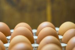eggs background Close-up Top view royalty free stock image