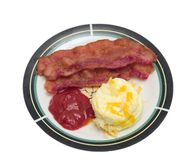 Eggs and Bacon Stock Photo