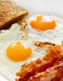 Eggs and bacon Royalty Free Stock Photo