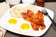 Eggs and Bacon Breakfast Royalty Free Stock Image