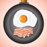 Eggs and bacon Stock Photography