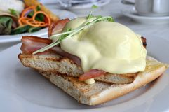 Eggs Benedict Royalty Free Stock Photo