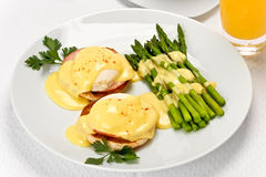 Eggs Benedict Stock Image
