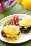 Eggs Benedict Royalty Free Stock Photos