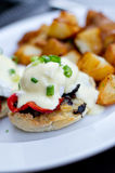 Eggs benedict breakfast Royalty Free Stock Photos