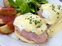 Eggs benedict royalty free stock images