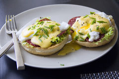 Eggs Benedict Royalty Free Stock Photography