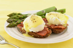 Eggs Benedict Stock Photography