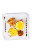 Eggs benedict Stock Photography