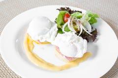 Eggs Benedict Stock Image