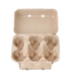 Eggs Box Container or Eggs Carton. Blank Package Royalty Free Stock Image
