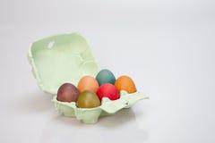 Eggs in box Stock Photo