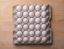 Eggs box Stock Photos