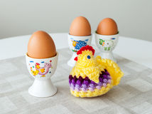 Eggs for breakfast Royalty Free Stock Image