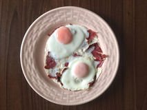 Eggs for breakfast Royalty Free Stock Photography