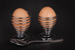 Eggs for breakfast Royalty Free Stock Photos