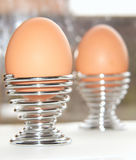 Eggs Breakfast for two Royalty Free Stock Image