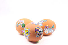 Eggs By Easter Stock Images