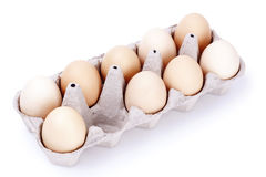 Missing one egg Stock Images