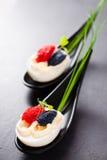 Eggs with caviar. Royalty Free Stock Photos