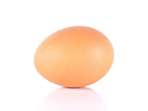 Eggs close up isolated on white background. Royalty Free Stock Photography