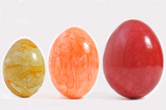 Eggs in colour. Royalty Free Stock Photo