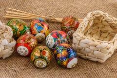 Eggs a composição Fotografia de Stock Royalty Free