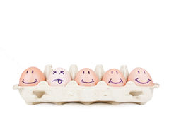 Eggs concept Stock Images
