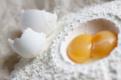 Eggs in cooking Stock Photography