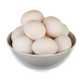 Eggs in a cup Stock Photography