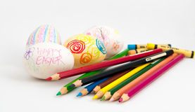 Eggs Decoration Stock Images